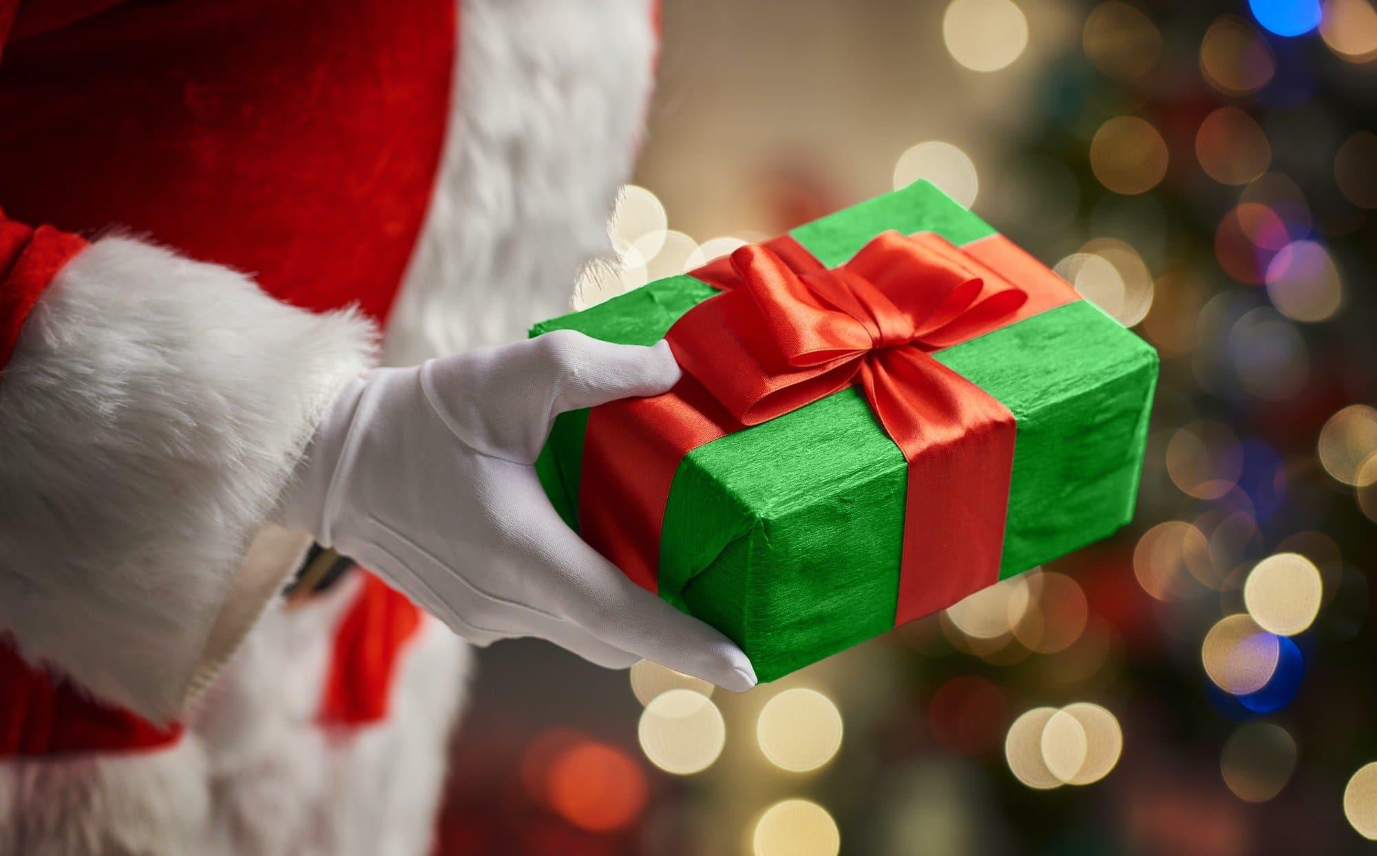 Hands of Santa Claus