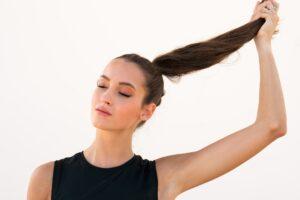 Sobre a estrutura do cabelo.